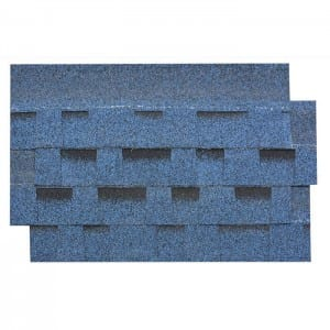 Burning Blue Gelaagd Asphalt Roof Shingle