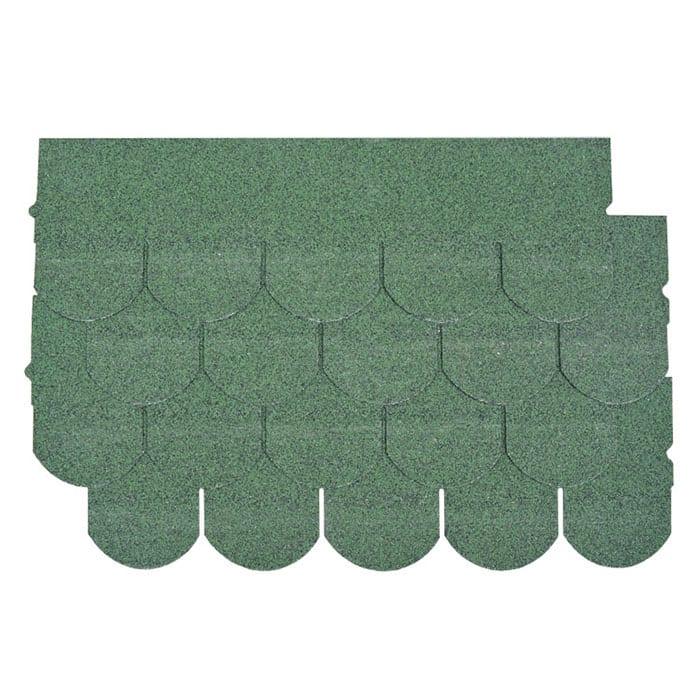OEM/ODM China Roof Shingle Patterns - Chateau Green Fish Scale Asphalt Roof Shingle – BFS BUILDING