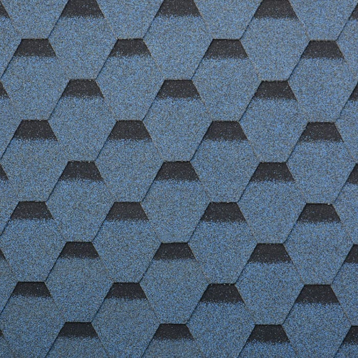 Harbor Blue Hexagonal Asphalt Roof Shingle Featured Image