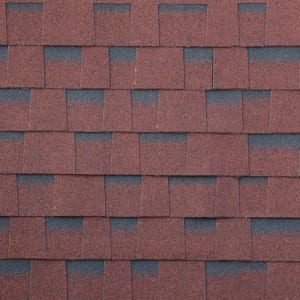 Asian Red Gelaagd Asphalt Roof Shingle