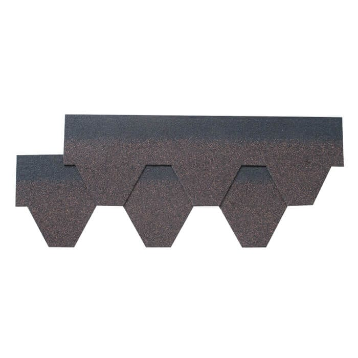 Wholesale Price Laminated Asphalt Roofing Shingle Brown -