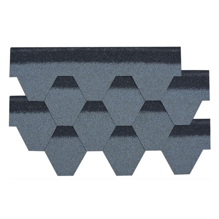 Manufacturer for Red 3 Tab Roofing Shingles - Cloudy Grey Hexagonal Asphalt Roof Shingle – BFS BUILDING