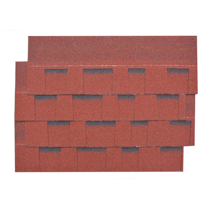 Burning Red Laminated Asphalt Roof Shingle Featured Image