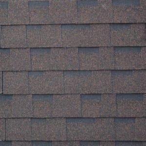 Brown itace Laminated Kwalta Rufin Shingle