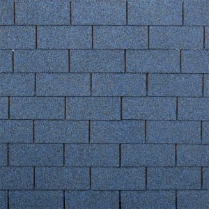 Harbor Blue 3 Tab Kwalta Rufin Shingle