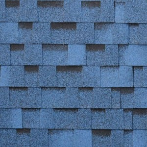 Multi-color Burning Blue Laminated Asphalt Roof Shingle