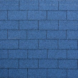 Burning Blue 3 Tab Asphalt Roof Shingle