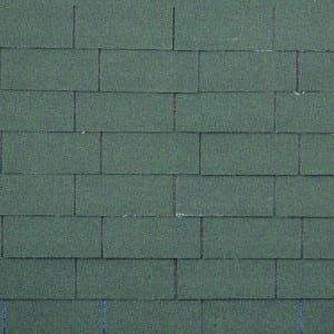 Chateau Green 3 Tab Kwalta Rufin Shingle