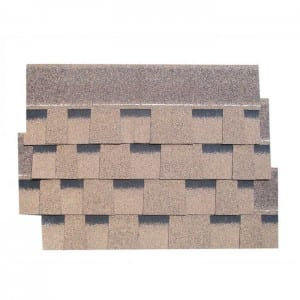 Desert Tan Gelaagd Asphalt Roof Shingle