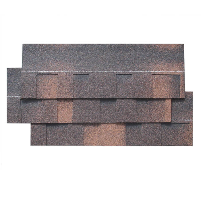 Multi-color Brown wood Laminated Asphalt Roof Shingle