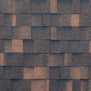 Multi-launi Brown itace Laminated Kwalta Rufin Shingle