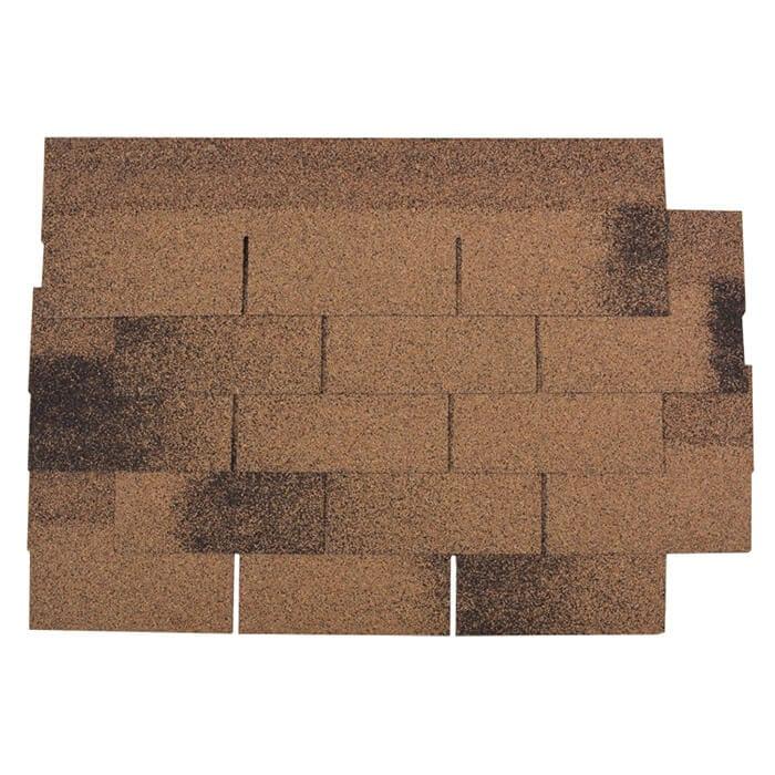 Bottom price Roofing Shingles - Desert Tan 3 Tab Asphalt Roof Shingle – BFS BUILDING