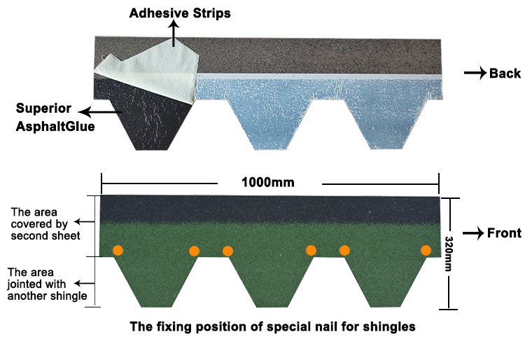 hexagonal shingle nail